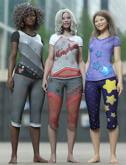 Playful Styles for Everyday 2 Clothes and Poses Texture Add-on