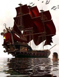 PW Pirate Ship Poseidon