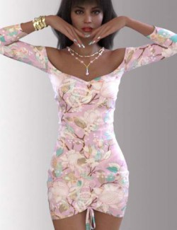dForce Mira Outfit for Genesis 8.1 Females