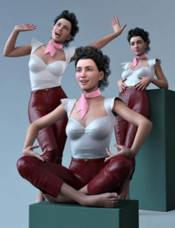 CDI Vintage Poses for Genesis 8.1 Female