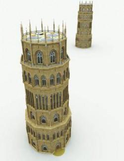 Tower of Abjuration for Poser