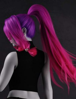 Haiku Hair for Genesis 8 and 8.1 Females