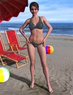 IM Beach Pose Collection for Genesis 8 Female