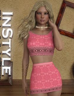 InStyle- JMR dForce Lauren Short Dress for G8F