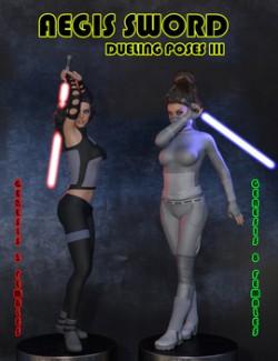 Aegis Sword: Dueling Poses III for Genesis 3 & 8 Females