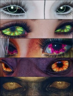 MMX Fantasy Eyes 3 for Genesis 3 and 8