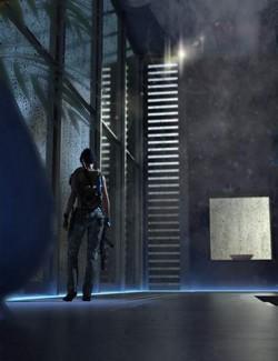 SciFi Room CyberPunk