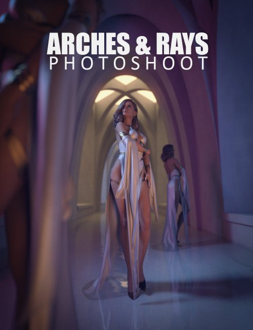 Arches And Rays Photoshoot