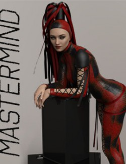 Mastermind dForce outfit for Genesis 8 females