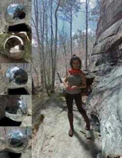 Orestes Iray HDRI Environments - High Hill Bluffs