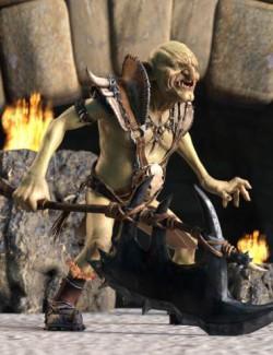 Warrior Goblin Poses for War Goblin HD