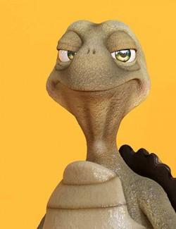 Tank the Cartoon Tortoise
