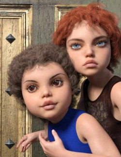 Lora and Lorel for Genesis 8 and 8.1 Female