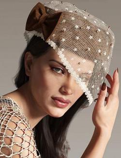 Timeless Treasures Headwear for Genesis 8 Females