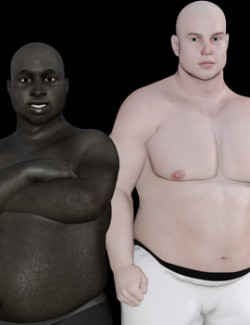 Plus Size for Genesis 3 and 8 Male