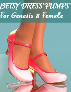 Betsy Dress Pumps for Genesis 8 Female