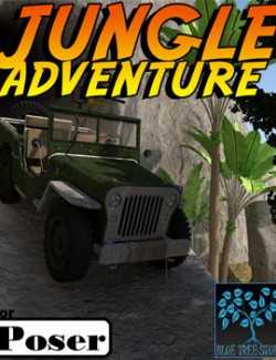 Jungle Adventure for Poser