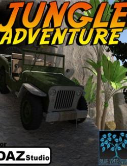 Jungle Adventure for Daz
