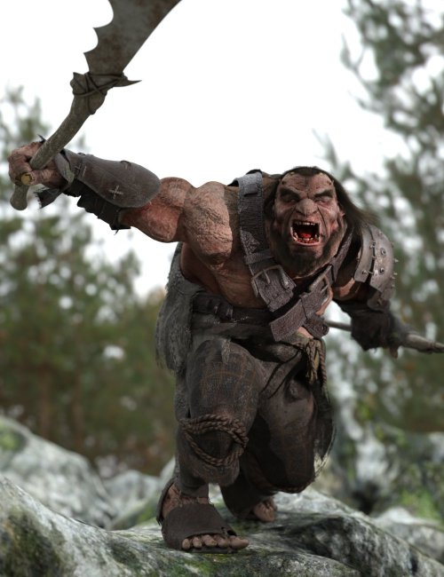 The Giant Bergelmir HD for Genesis 8 Male