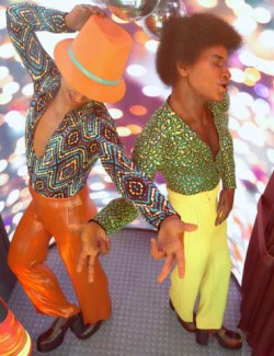 dForce Disco Boogie Outfit Textures
