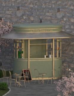 Paris Coffee Kiosk