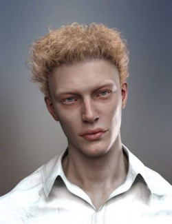 dForce Wayward Curls Hair for Genesis 8 and 8.1