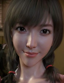 Seo Hyun Character with Hair for Genesis 8 and 8.1 Female