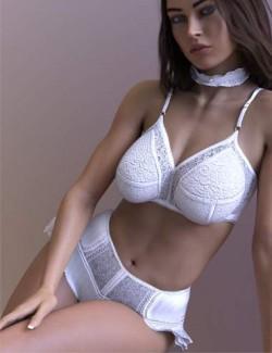 X-Fashion Glamorous Vanity Set for Genesis 8.1 Females