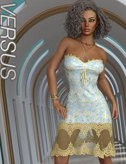 VERSUS- dForce Bella Dress Dress for Genesis 8.1 Females