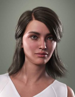 SP Hair 016 for Genesis 3 and 8 Females