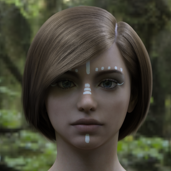 TD Hair for Genesis 8 and 8.1 Female