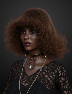 Stack Perm Hair for Genesis 3 and 8 Females