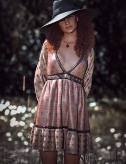 dForce CB Rye Croft Clothing Set for Genesis 8 and 8.1 Females