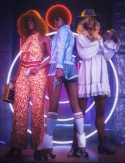 Jada 8.1 Undercover Roller Girl Bundle