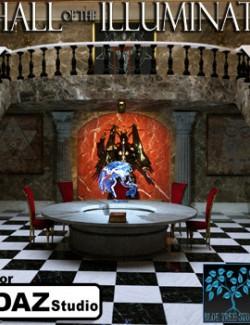 Hall of the Illuminati for Daz