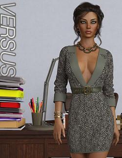 VERSUS- dForce Callie Outfit for Genesis 8.1 Females