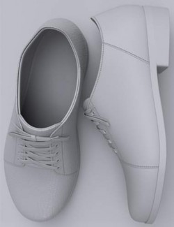 Classic and Walking Shoes for Genesis 8 and 8.1 Males