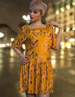 dForce Biba Outfit Texture Expansion