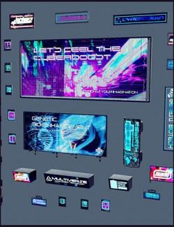 Cyberpunk Neon Signs