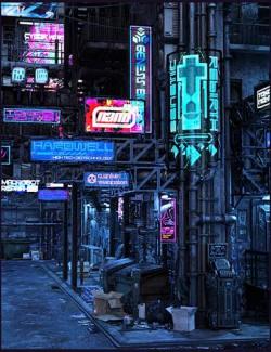 Cyberpunk Back Alley Bundle