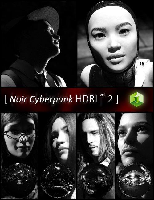Noir Cyberpunk HDRI Volume 2