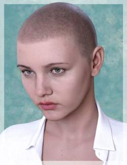 Shaved Hair V2 for Genesis 8.1 Females