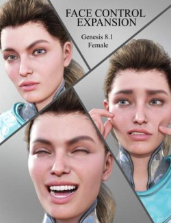 Face Control Expansion for Genesis 8.1 Female