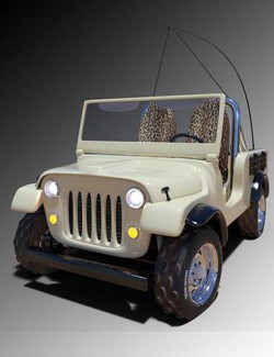 Safari Off Road Iray Add-On