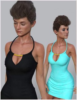 dForce R Skirt Dress for Genesis 8 and 8.1 Female