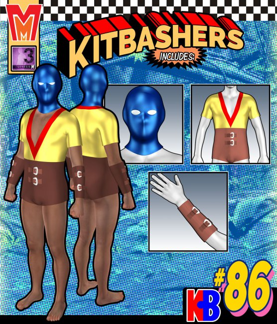 Kitbashers 086 MMG3M