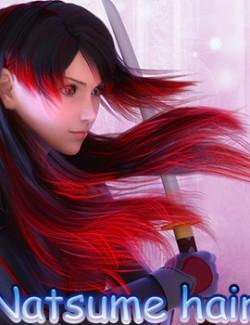 fantasy anime haircut 9 _ Natsume hair  for G8F