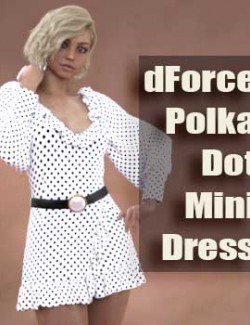 dForce PolkaDot Mini Dress