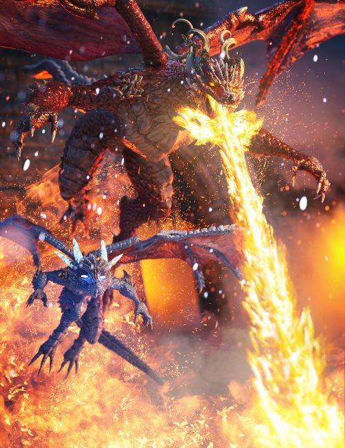 Drago Fire and Fury Bundle