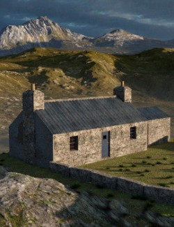 The Crofter Cottage for DAZ Studio